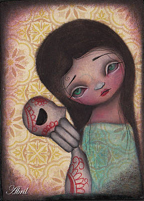 Painting - Dead Friend by  Abril Andrade Griffith