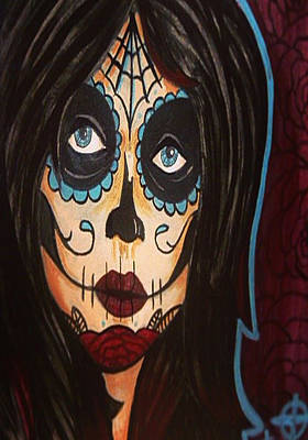 Dead Girl Art Print by Jarrod Sparks
