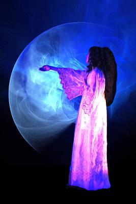 Fractal Other Worlds Digital Art - Dead Girl by Lisa Yount