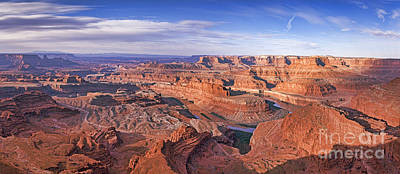 Photograph - Dead Horse Point Panorama by Colin and Linda McKie