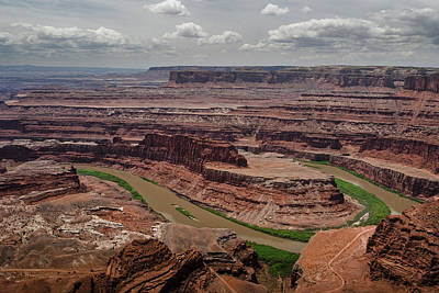 Photograph - Dead Horse Point by Ryan Heffron
