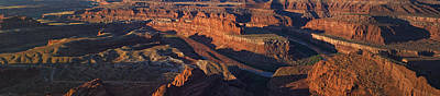 High Desert Photograph - Dead Horse Point Sunrise Panorama by Mark Kiver