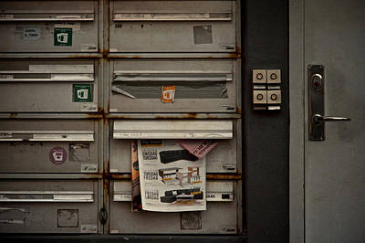 Mail Box Photograph - Dead Letters by Odd Jeppesen