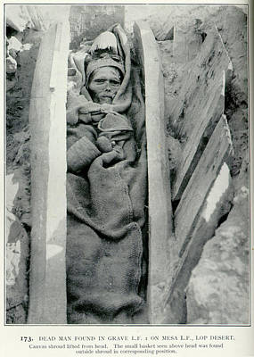 Dead Man Found In Grave Art Print by British Library