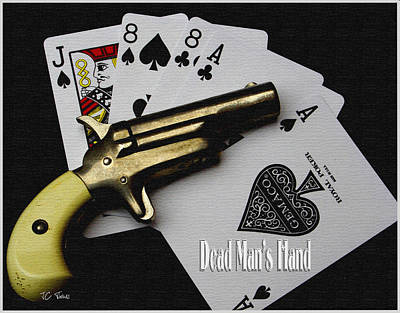 Photograph - Dead Man's Hand by James C Thomas