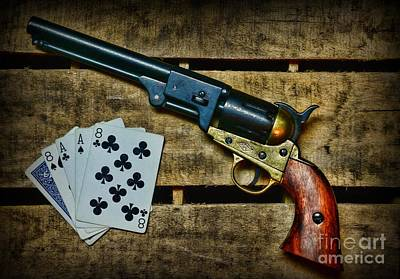 Wild Bill Hickok Photograph - Dead Man's Hand by Paul Ward