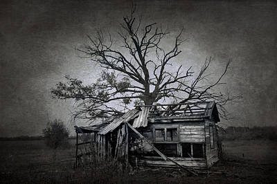 Eerie Digital Art - Dead Place by Svetlana Sewell