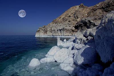 Dead Sea Art Print by Christian Heeb