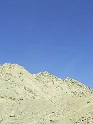 Photograph - Dead Sea Mountain Top by Esther Newman-Cohen