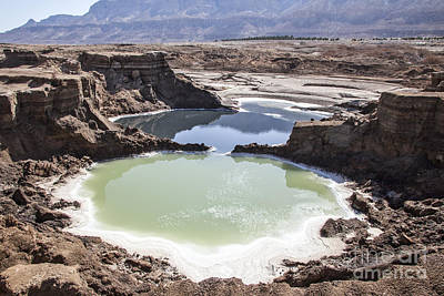 Sink Hole Photograph - Dead Sea Sinkholes  by Eyal Bartov