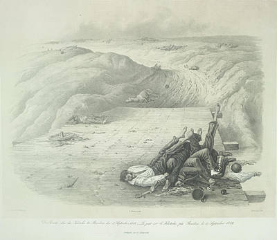 Dead Soldiers Of The Grand Armee Print by British Library
