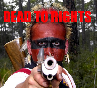 Foe Photograph - Dead To Rights by David Lee Thompson