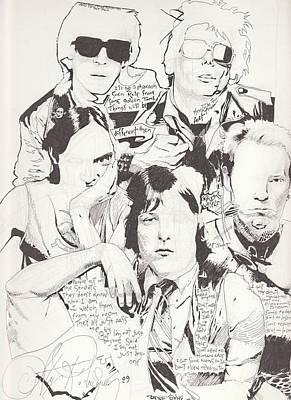 Alex Rodriguez Drawing - Deadboys by Alex Rodriguez