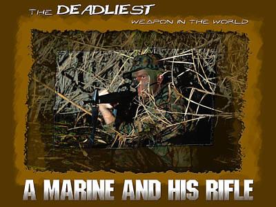 Recruiting Digital Art - Deadliest Weapon 2 by Annette Redman
