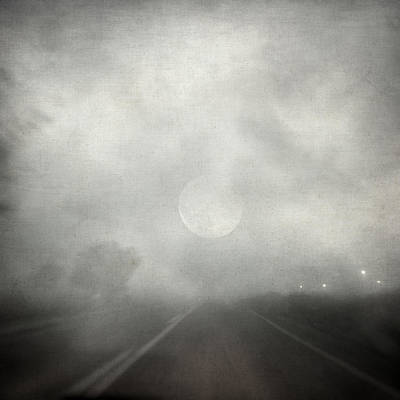Moonlit Night Photograph - Deadlock by Taylan Apukovska