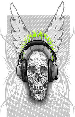 Digital Art - Deadly Beats by Gregory Dyer