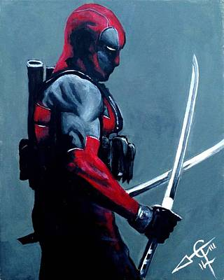 Deadpool Art Print