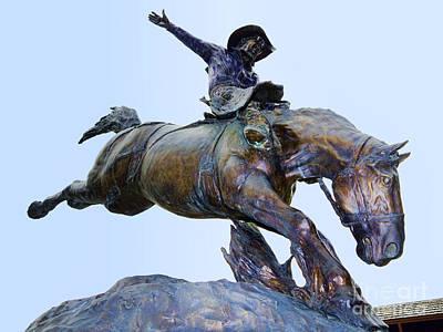 Photograph - Deadwood Cowboy by Brenda Kean