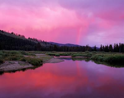 Photograph - Deadwood River by Leland D Howard