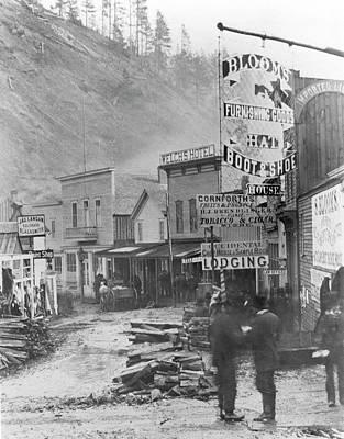 Photograph - Deadwood, South Dakota by Granger