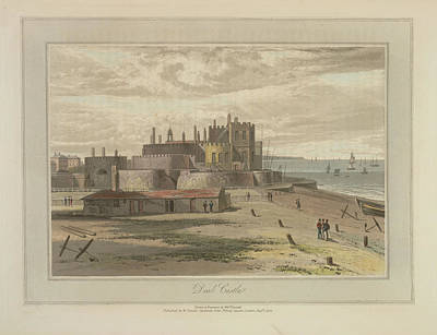 Deal Castle Art Print