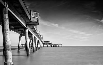 Deal Pier Art Print by Ian Hufton