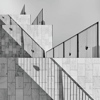 Shape Photograph - Dealing With Shadows by Jeroen Van De