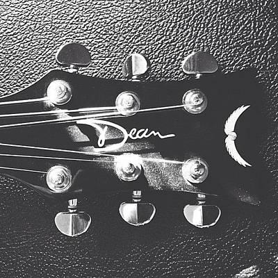 String Instrument Photograph - Dean Acoustic by Patrick Lane