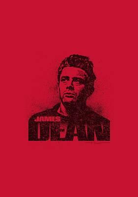 James Dean Digital Art - Dean - Dean Graffiti by Brand A