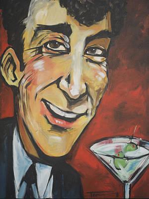 Martini Royalty-Free and Rights-Managed Images - Dean Martin by Tim Nyberg