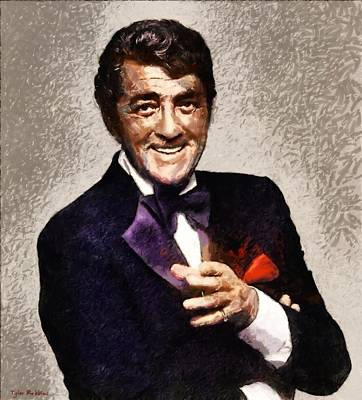 Painting - Dean Martin by Tyler Robbins