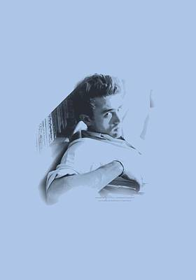 James Dean Wall Art - Digital Art - Dean - Picture This Too by Brand A