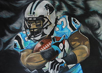 Pastel - Deangelo Williams by Ryan Doray