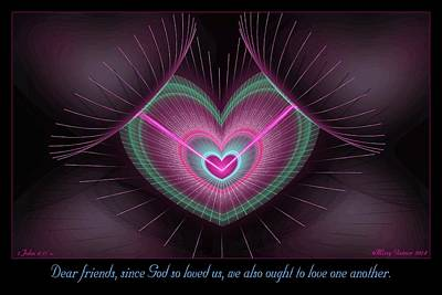 Digital Art - Dear Friends by Missy Gainer