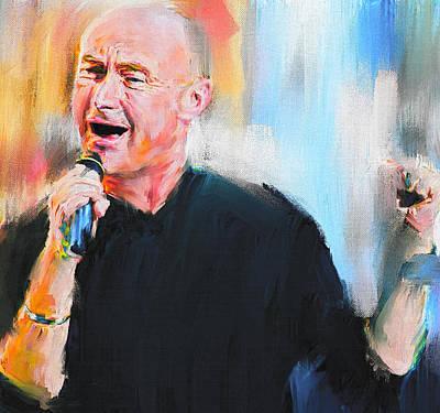 Concert Digital Art - Dear Phil by Yury Malkov