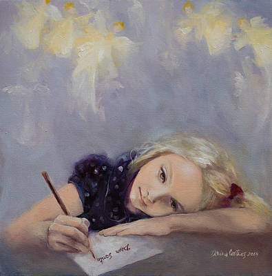 Dear Santa... Original by Dorina  Costras