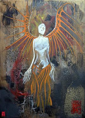 H.r. Giger Painting - Death Angel by Jakub DK