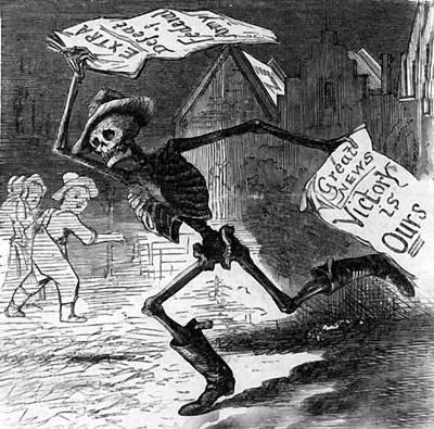 Death As A Richmond Newsboy  Art Print by Richmond News
