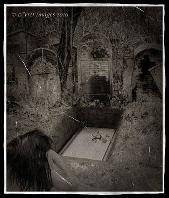 Photograph - Death Becomes Her by Kristie  Bonnewell