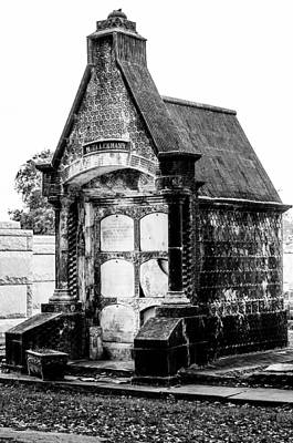 Photograph - Death House - New Orleans Cemetery by Andy Crawford