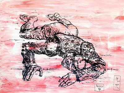 Bull Fighter Painting - Death Of A Matador by Roberto Prusso