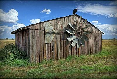 Photograph - Death Of A Windmill by Dale Paul