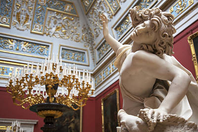 The Hermitage Photograph - Death Of Adonis - The Hermitage Museum - St. Petersburg by Madeline Ellis