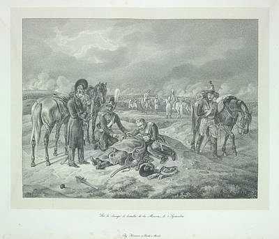 Adam Photograph - Death Of An Officer by British Library