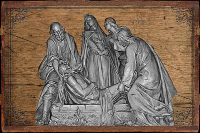 Photograph - Death Of Christ by Carlos Diaz