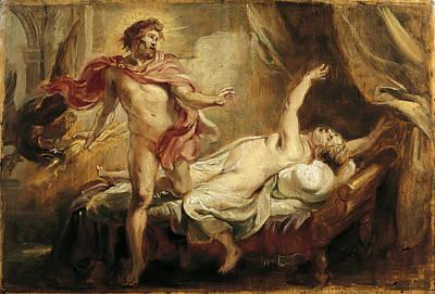 Semele Painting - Death Of Semele by Peter Paul Rubens