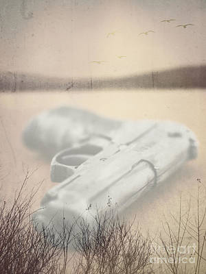 Photograph - Death On Solid Water by Edward Fielding