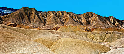 Photograph - Death Valley Badlands by Tomasz Dziubinski