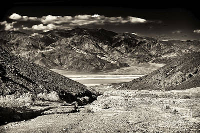 Brown Tones Photograph - Death Valley Brown Tone by John Rizzuto