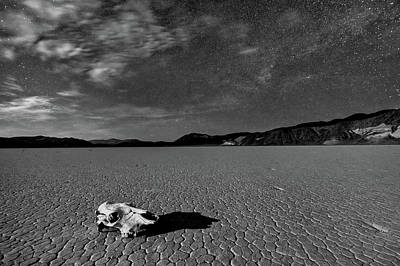 Moonlight Wall Art - Photograph - Death Valley By Moonlight by Hua Zhu